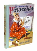 Libri ragazzi Collodi Avventure di Pinocchio illustrazioni di Albertarelli 1944