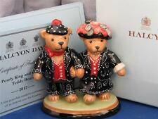 HALCYON DAYS PEARLY KING & QUEEN TEDDIES Ltd Ed NEW BOXED