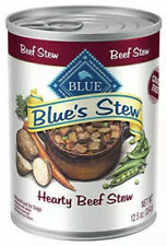 Blue Buffalo~Blue's Hearty Beef Stew~Canned Dog Food~3 Pack~Exp. 8/15/2022