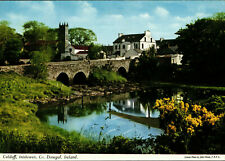 Culdaff, Inishowen, Co. Donegal, colour postcard, posted