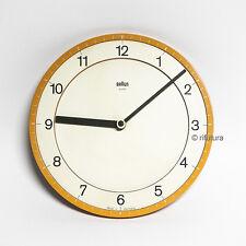 Orologio parete clock BRAUN abk30 mod4861 design Dieter Rams e Dietrich Lubs 1ML