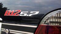 BMW Alpina B12 5.7 hinten Schriftzug Heckklappe Rear Emblem