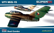 Eduard 1/144 UTI MiG-15 Super 44 Dual Combo # K4444
