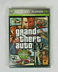 Grand Theft Auto IV  PH (Xbox 360, 2008) * New Sealed Free shipping*