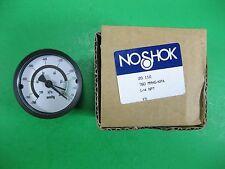 Noshok Pressure Gauge 1/4 NPT -- 20.110 -- New