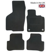 Toyota Aygo MK II 2014+ Fully Tailored 4 Piece Car Mat Set 2 Twist Clips