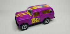 Racing Champions SCOOBY DOO FRED '80 FORD BRONCO Purple / Yellow Cartoon Car
