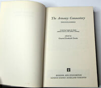 1973 First Ed. Book The Four Gospels The Armoury Commentary Christ Mark Luke