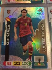 Adrenalyn XL UEFA EURO 2012 Panini CESC FABREGAS SPAIN Limited Edition