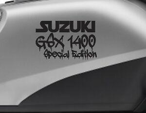 SUZUKI GSX 1400 SPECIAL motorbike bike logo decals CUSTOM COLOUR Vinyl Sticker