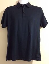 Zegna Sport Navy/Dark Blue Short Sleeve Buttoned Polo Shirt Cotton 295$ Size M