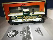 Lionel O 6-27638 NS Heritage Southern CA-4 Caboose - Lighted with Smoke -Figures