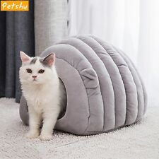 Cat House Kennel Cave Warm Kitten Puppy Cute Small Bed Cushion Comfortable