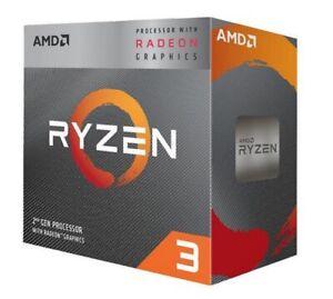 AMD RYZEN 3 3200G Quad-Core 3.6GHz CPU with Integrated Radeon Vega 8 Graphics