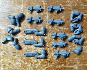 Space Marine Assault Squad torse volute Avant Pièce WARHAMMER 40,000 BITZ A664