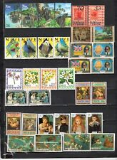 Niue - Lot Of Early Unused MH/OG Stamps {NU3}