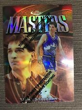 1997-98 Finest Refractors Masters John Stockton B #33
