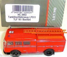 PUMPER LP311 TLF16 Bachert Pompieri HEICO HC 2002 H0 1:87 NUOVO µ