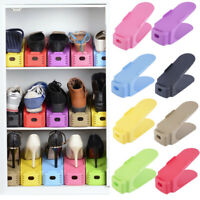 Magic Double Smart Shoes Organizer Display Rack Space-Saving Storage Rack Holder