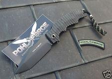 Pohl Force Alpha Five black plain Tanto Messer CTS-BD1 Stahl  Zytel® Griff #1048