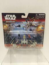 Star Wars Force Awakens Micro Machines Trench Run  7 Pk