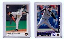New listing Brad Thomas (2) BBM Japanese Baseball Cards Australian Player