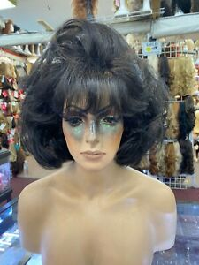 EXPRESSO BIG GIRL PAGE LOOK  drag queen look  WOW LOOK NATURAL WIGS R US auc