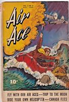 AIR ACE VOL 2 #6 VG- 1944 STREET AND SMITH GOLDEN AGE COMICS