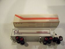 COMMERICAL LOVELACE TRACTOR TRAILER DIECAST WINROSS TRUCK