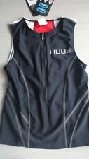 HUUB Essential Tri Top Large BLACK/RED taille L