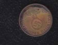 GERMANY 1 REICHPFENNIG 1938 A