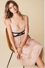 New *Next* (size Uk 16) Blush Pinks Spaghetti Straps Vintage Style Dress