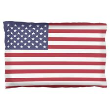 4th of July American Flag Pillow Case