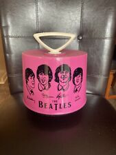 Vintage Disk Go case with Beatles image