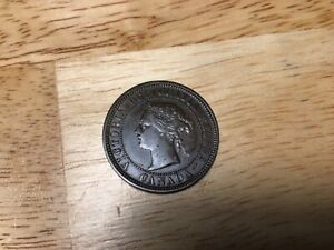 1881H Canada Large Cent, Nice Very Fine/ Extra Fine