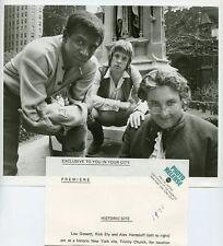 LOU GOSSETT RICK ELY ALEX HENTELHOFF PORTRAIT THE YOUNG REBELS 1970 ABC TV PHOTO