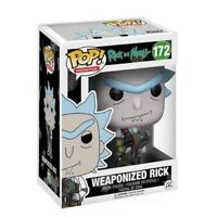 Funko Pop! Ricky And Morty Weaponized Rick Chase #172