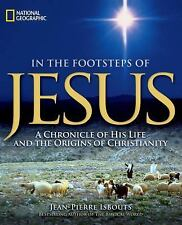 National Geographic's In The Footsteps of Jesus... NEW Illustrated Hardcover
