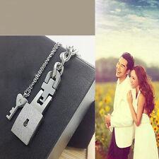 Bracelets style d'amants fantaisie serrure unique seule hommes cadeaux simple