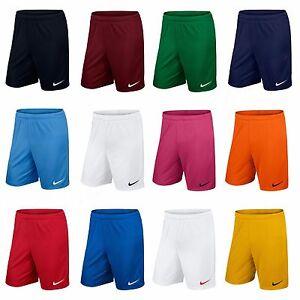 Nike Mens Shorts Park Football Training Pants Bottoms Gym Running Size S M L XL