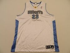 M119 Rare ADIDAS Authentic Denver Nuggets Marcus Camby Game Jersey Men's 56