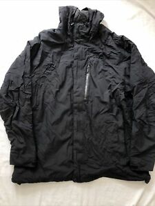 Marmot Jacket Black Mens XXL Rain Coat