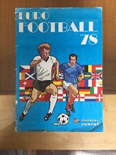 Rare Panini Euro Football 78 1978 Complete No Writing Solid Staples