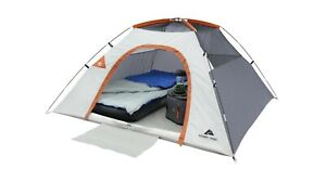 3 Person Outdoors Weatherproof Large Camping Tent Dome Backpacking w/ Pockets