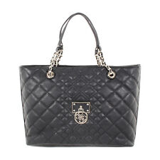Guess Aliza Medium Black Ladies Tote Handbag VG610923