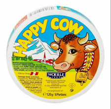 Happy Cow Cheese 8 Portions Made from 100% Cow Milk 120g