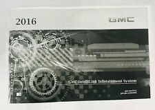 New Oem 2016 Gmc Sierra Owner'S Manual Book/Portfolio