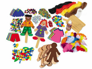 NEW Lakeshore : People Shapes Project Kit - Item LC170