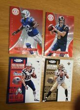 lot de 4 carte football américain trading card football US NFL