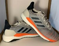 ADIDAS Solar Glide ST Boost B96287 Mens Size 13 Cream/Orange/Navy Blue NWOB